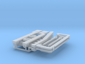 (2) SETS SMALL FEEDERHOUSE PARTS in Smooth Fine Detail Plastic