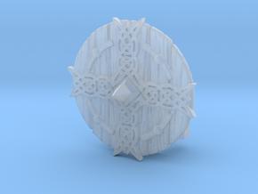 Shield04-Buckler-Cross  6-7inch MOTU  in Smooth Fine Detail Plastic