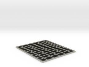 Space Station Basic Kit1 Single Solarpanle in Transparent Acrylic