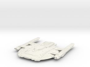 Federation Phantom Class IV Cruiser in White Natural Versatile Plastic