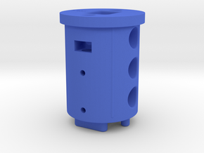 light bar 3D printed REAR plug 2018 R1 in Blue Processed Versatile Plastic