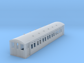 o-148-midland-railway-heysham-electric-tr-coach in Smooth Fine Detail Plastic