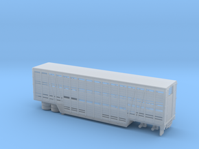 1/160 1960tys Lifestock Semi Trailer in Frosted Ultra Detail