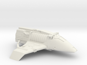 Bajoran Raider in White Natural Versatile Plastic
