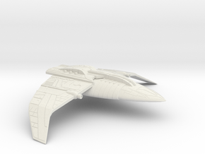 Bajoran Interceptor in White Natural Versatile Plastic
