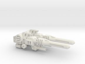 Hypersonic Concussion Blasters for TR Sixshot in White Premium Strong & Flexible