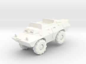 """M706 Commando USAF """"DUCK"""" in White Processed Versatile Plastic: 1:200"""