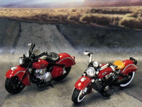Indian Sport Scout 1941  1:87  HO in Smooth Fine Detail Plastic