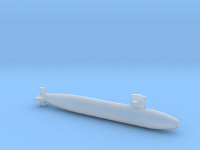 Sturgeon-class SSN (Short Hull), full hull, 1/1800 in Smooth Fine Detail Plastic