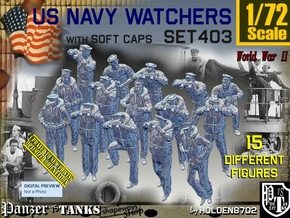 1/72 USN Watchers Set403 in Smooth Fine Detail Plastic