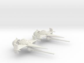 Swordfish II 1/270 (Cowboy Bebop) in White Natural Versatile Plastic