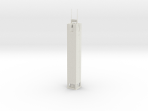 CITIC Plaza (1:2000) in White Natural Versatile Plastic