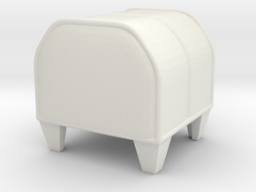 BOXY AUDIMIN (FOR EXPERIMENT) in White Strong & Flexible