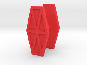 Antron Shields in Red Processed Versatile Plastic
