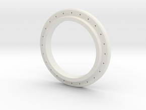 Drill Template - JConcepts Tribute Bead Lock in White Natural Versatile Plastic