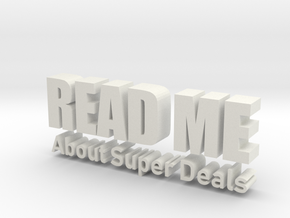 READ ME About Super Deals in White Natural Versatile Plastic