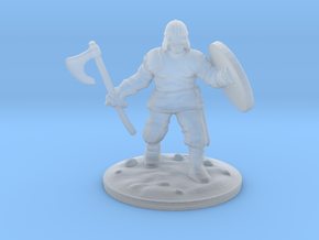viking axe in Smooth Fine Detail Plastic