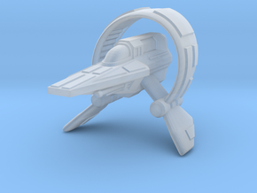 Fluctus Starfighter in Smooth Fine Detail Plastic