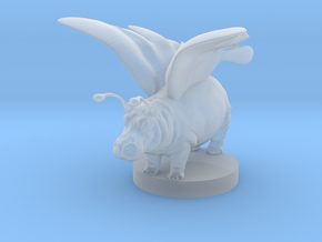 Pixiepotamus the Ultimate Familiar in Smooth Fine Detail Plastic