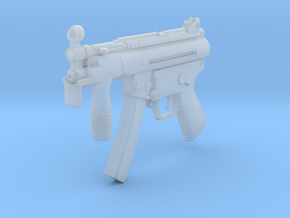 1/6th MP5K  in Smooth Fine Detail Plastic