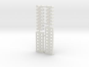 Missile Interior in White Natural Versatile Plastic: 1:60