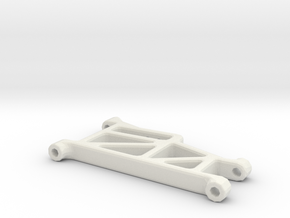 losi jrx pro se front suspension arm in White Natural Versatile Plastic