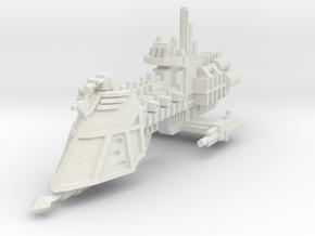 Crucero Adeptus Arbites clase Castigador in White Natural Versatile Plastic