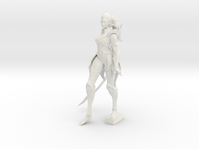 Diana in White Natural Versatile Plastic