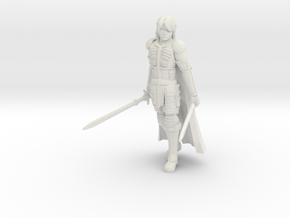 Elf Ranger in White Natural Versatile Plastic