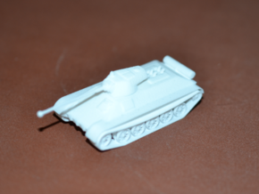 1/100 BVS Medium Tank Destroyer in White Strong & Flexible