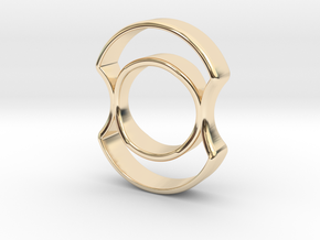 Micro Spinner in 14K Yellow Gold