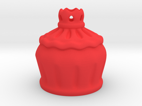Rose Goblet Part A: MSD 1/4 mini in Red Processed Versatile Plastic