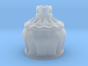 Rose Goblet Part A: MSD 1/4 mini in Smooth Fine Detail Plastic
