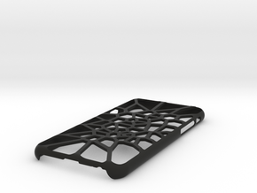 iPhone 6 / 6S case_Cell Division in Black Premium Strong & Flexible