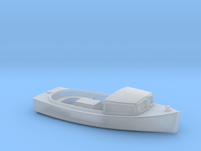 Cabin Cruiser Boat HO Scale in Smooth Fine Detail Plastic