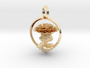 World tree of Aster in 14k Gold Plated Brass