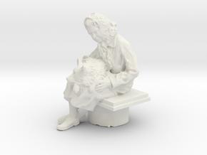 Printle V Femme 1028 - 1/32 - wob in White Natural Versatile Plastic