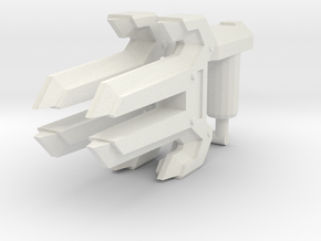 Energon Knuckles (Set of 2, 5mm) in White Natural Versatile Plastic