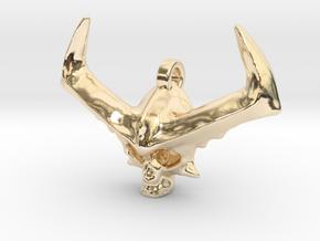 Surtur (Thor Ragnarok) Locket in 14k Gold Plated Brass