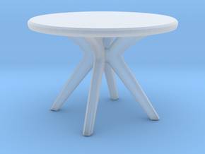 Miniature Tokyo table - Calligaris in Smooth Fine Detail Plastic: 1:24