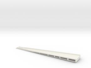 HOn3 rerailer in White Natural Versatile Plastic