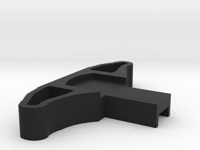 M27 Mock Charging Handle for M4 in Black Natural Versatile Plastic