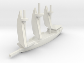 1/700 Galley variant 1 in White Natural Versatile Plastic
