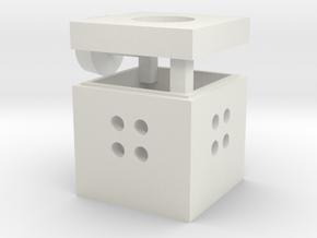 manhole glassfiber scale 1:87 in White Natural Versatile Plastic