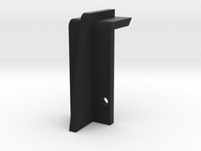 DE Speaker Panel Latch in Black Natural Versatile Plastic