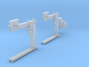 Crane for Salmon  track carrying wagons in N gauge in Smooth Fine Detail Plastic