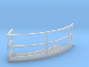 1/64 12' Tower Catwalk Round Right in Smooth Fine Detail Plastic
