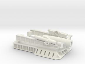 370 Filloux mortar 1/144   in White Natural Versatile Plastic