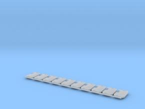 Boarding Shield V1 X10 in Smoothest Fine Detail Plastic