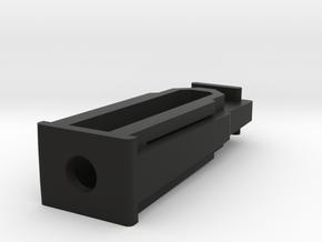 Angled Mini 14 Magazine Coupler in Black Natural Versatile Plastic: Small